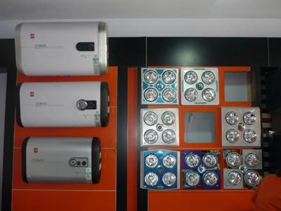 厨房电器/樱花热水器/依奈斯电热水器/小天鹅欧式吸油烟机/狮 >> 浴霸