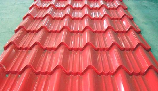 彩钢瓦红色系