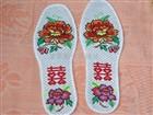 草莓十字绣鞋垫图样